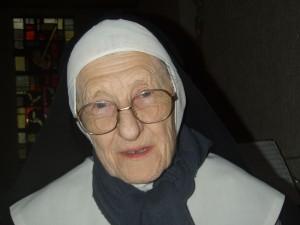 Soeur Marie de Saint-Jean (1927-2012), monastère de l'Annonciade, Thiais