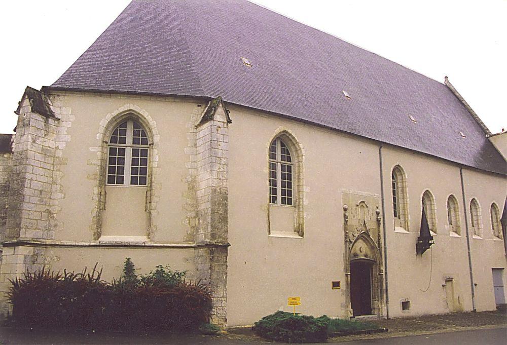 Bourges Chapelle  1er monastère (1502-1792)