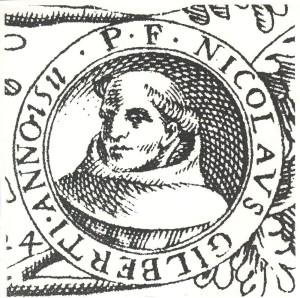 François de Gonzague, De origine seraphicae religionis…. Rome, 1587, Prima pars, page 40
