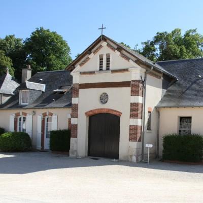 Chapelle du monastère de l'Annonciade à Saint Doulchard