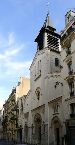 Léglise Saint Marti des Champs -Paris.