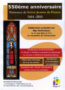 550è anniversaire JEANNE 1083