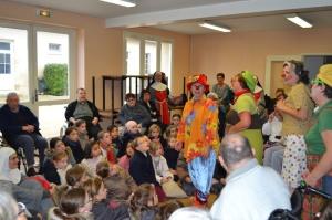 clowns monastère annonciade St Doulchard