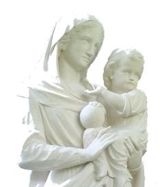 La Vierge des Jardins de l'Annonciade