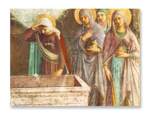 Le Tombeau vide - Fra Angelico