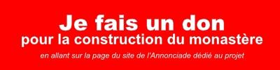 Faire un don pour le monastère de Caen-Grentheville