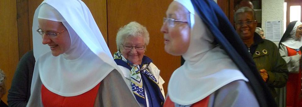 Profession temporaire de Soeur Marie Aimée de Jésus