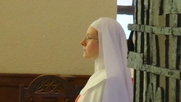 Les voeux de Soeur Marie aimée de Jésus au Monastère de l'Annonciade de Thiais
