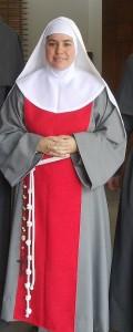 Monica = Soeur Maria Juana de Francia 2015
