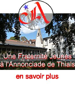 Une fraternité Jeunes à l'Annonciade de Thiais.