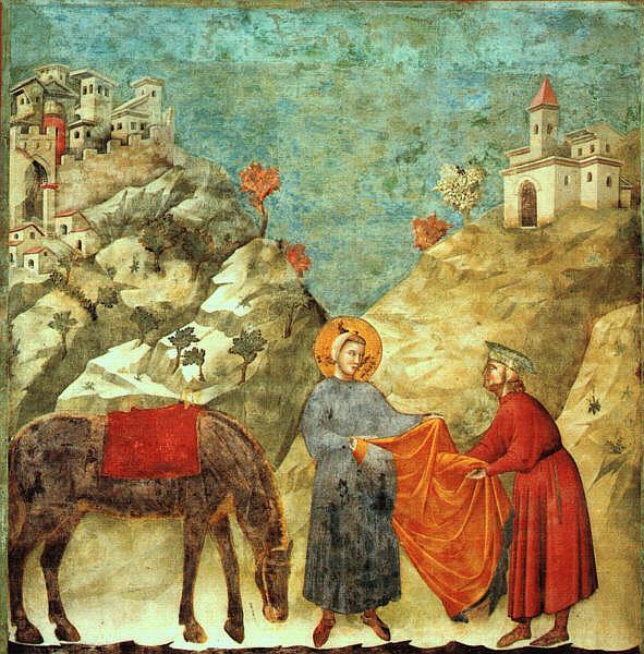 Saint François d'Assise par Giotto