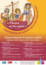 Les conférences de Carême à Notre Dame de Paris