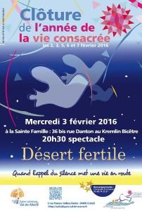 programme de la clôture de l'année de la vie consacrée dans le diocèse de Créteil