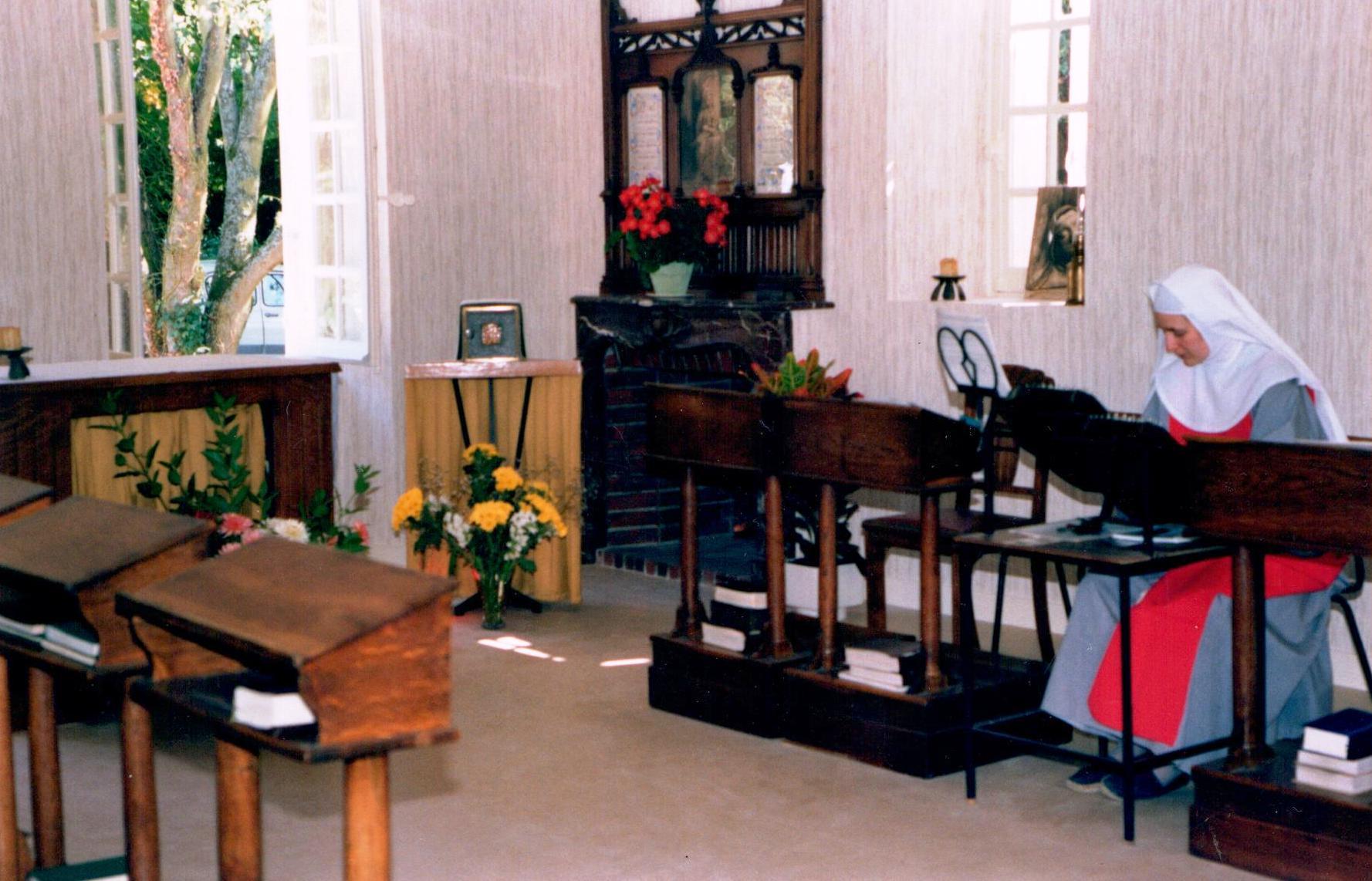 La chapelle provisoire du Monastère de Saint Doulchard