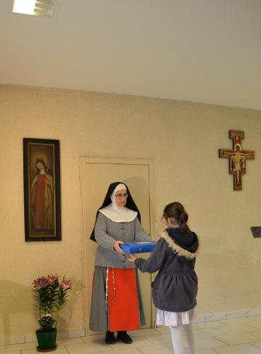 Remise de la valise de prière à Saint Doulchard