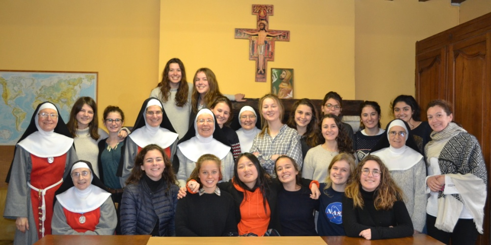 Un week-end « découverte de la vie monastique » pour les lycéennes du Collège Stanislas