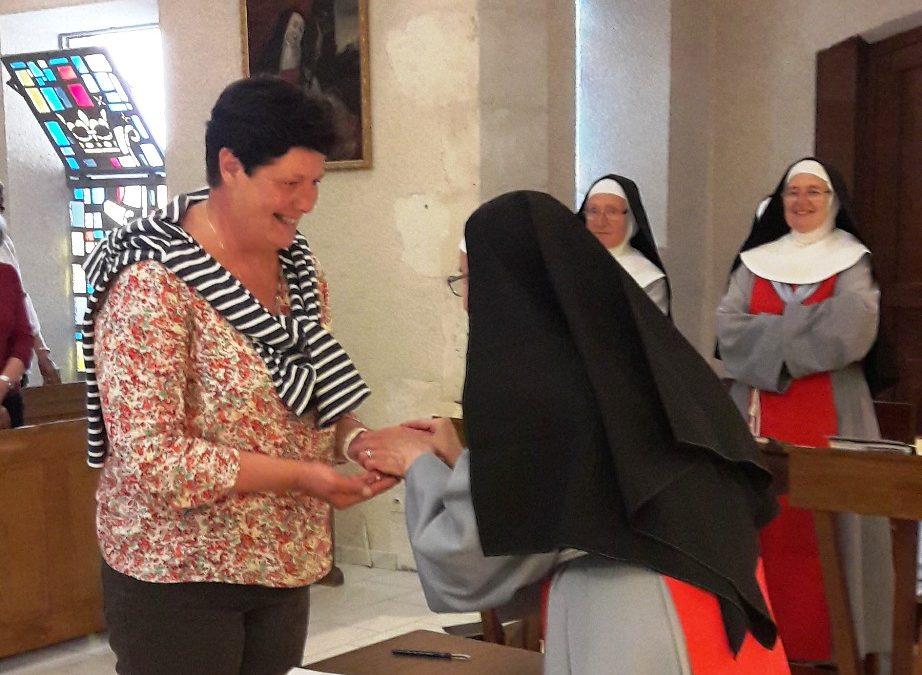 Cérémonie d'engagement pour la Fraternité Annonciade de Saint-Doulchard