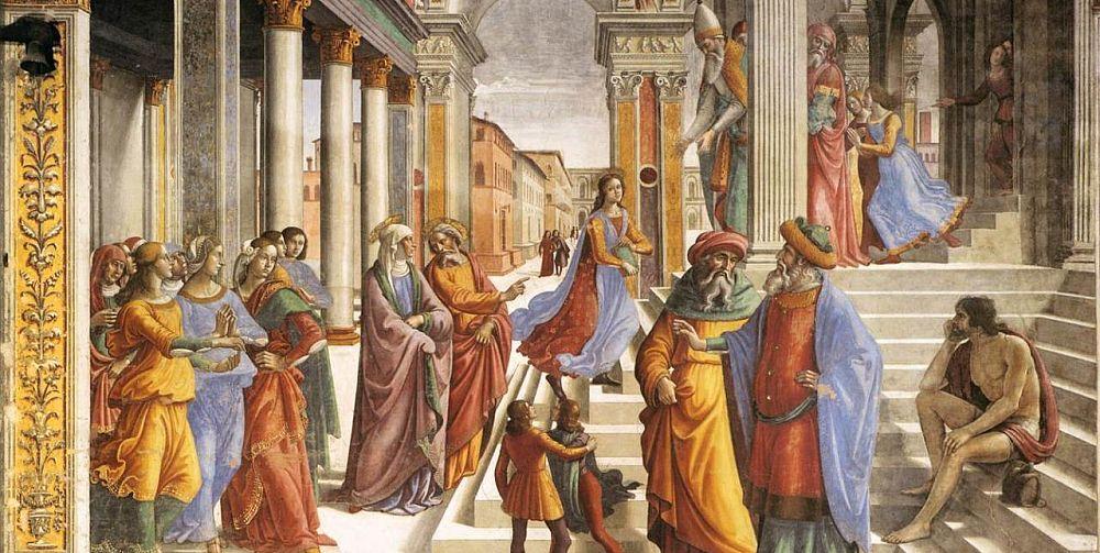 Présentation de la Vierge Marie au Temple de Jérusalem