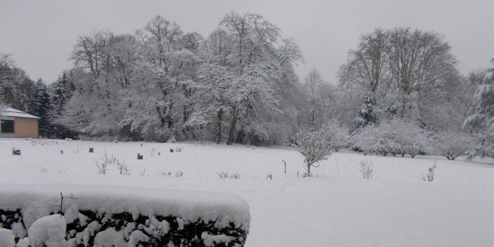 Quand il neige à Thiais