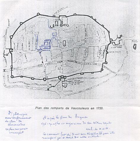 Plan des remparts 2