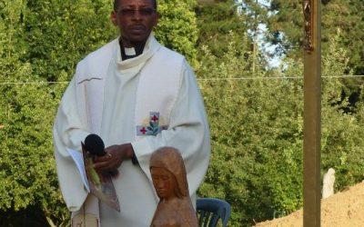 Bénédiction à L'Annonciade Thiais par le Père Cyriaque