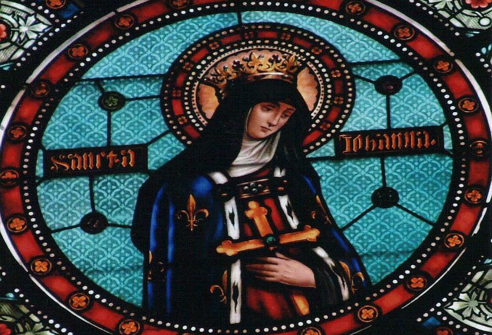 Solennité de sainte Jeanne de France 2020