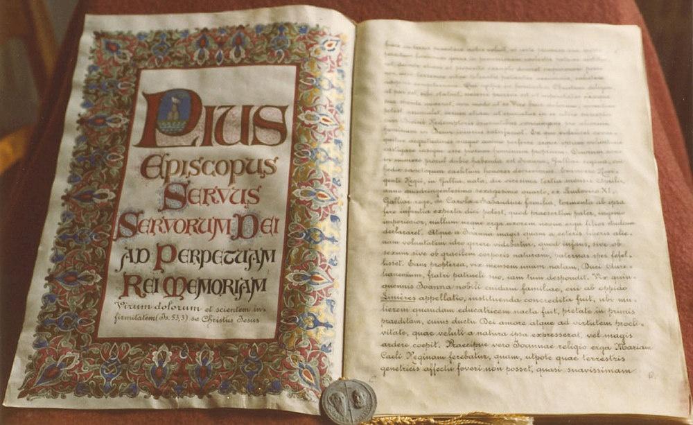 1950-2020 Anniversaire de la Canonisation de Jeanne de France