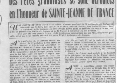 Journal, Courrier français 26 août 1950