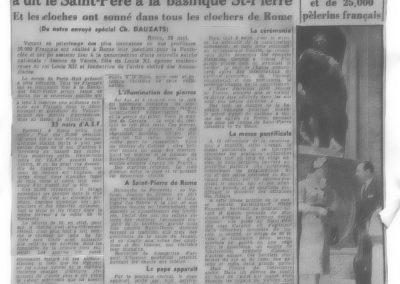 Journal Le Matin 29 mai 1950