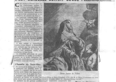 La Croix 30 mai 1950