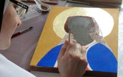 Un icône de Sainte Jeanne !