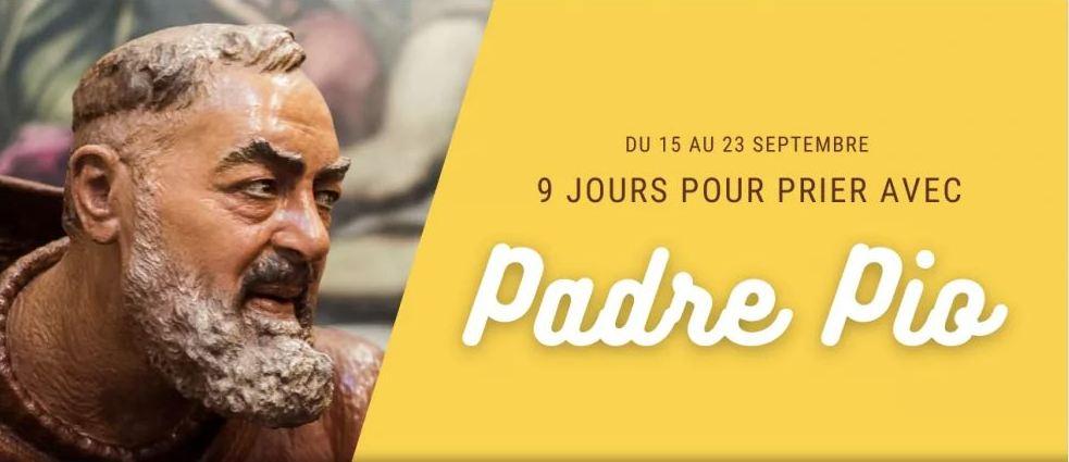 Une neuvaine au Padre Pio