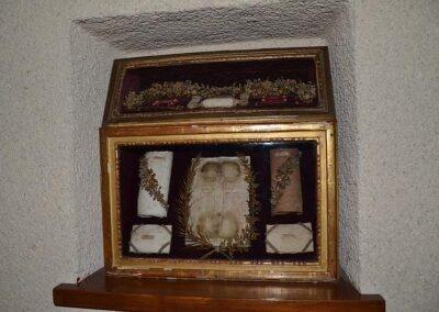 Reliques de sainte Jeanne, chapelle du monastère de Saint-Doulchard