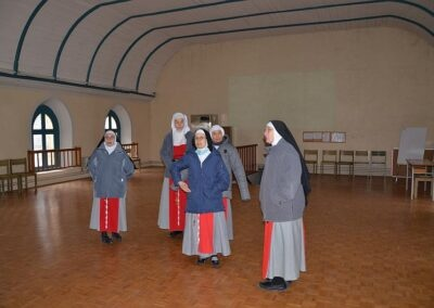 Salle qui fut le choeur des religieuses, choeur en tribune