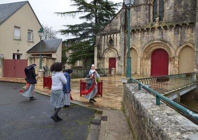 Arrivée à Lignières
