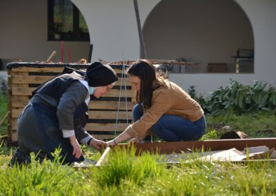 dans le jardin des Annonciades 4